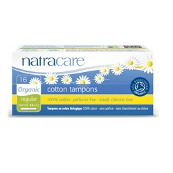 COTTONS NATURAL TAMPONS 16 REGULAR