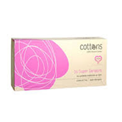COTTONS NATURAL TAMPONS 16 SUPER